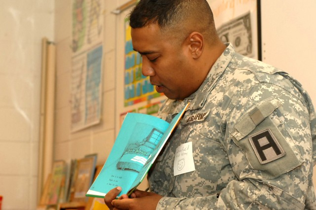 First Army, USAG get involved in area schools