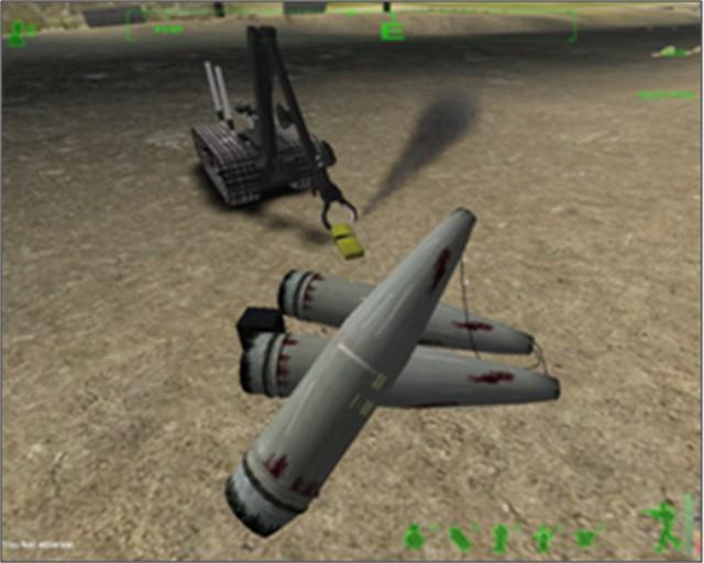 Robotic vehicle trainer