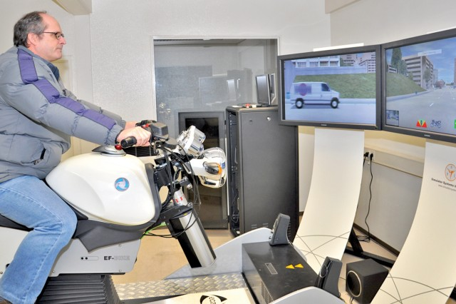 Novice to advanced riders benefit from motorcycle simulator training