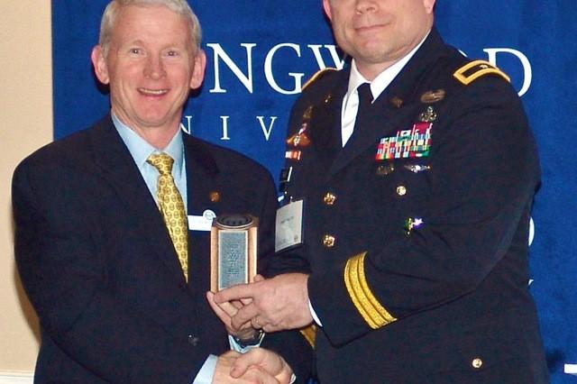 Alumni ward recipient