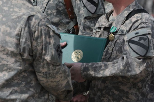 'Thunderhorse' Bn. recognizes selfless service