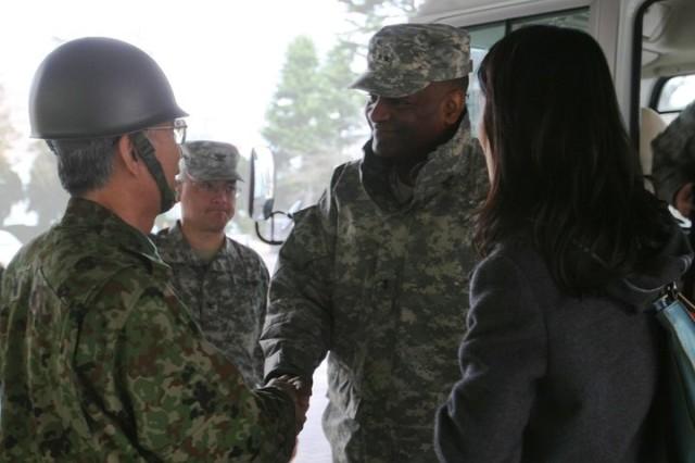 U.S. Army Japan heads to Sendai