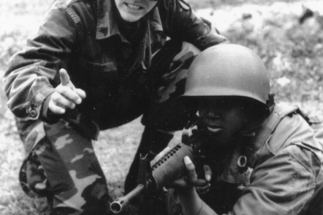 Galen Grant was a drill sergeant at Fort Jackson in the late 70s and early 80s. She was the first woman to win the post's Drill Sergeant of the Year title.