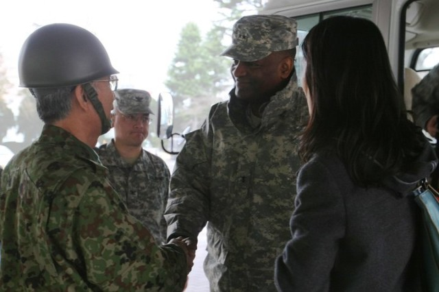 U.S. Army Japan heads to Sendai
