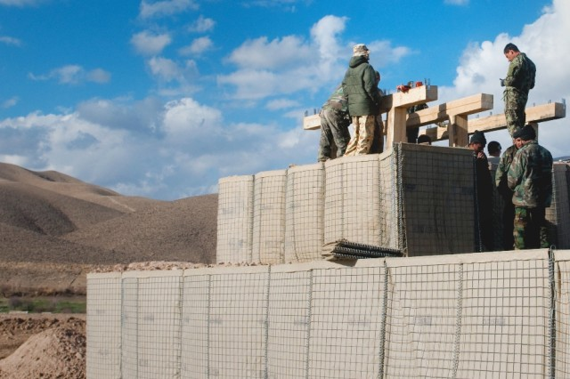New patrol base plans to bring peace to former Taliban stronghold