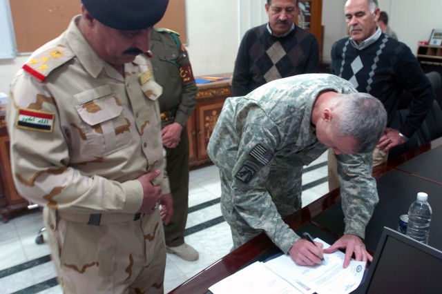 One step closer: property transfers to Iraqis continue
