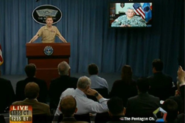 Gen. Ham briefs press on operation to protect Libyan civilians
