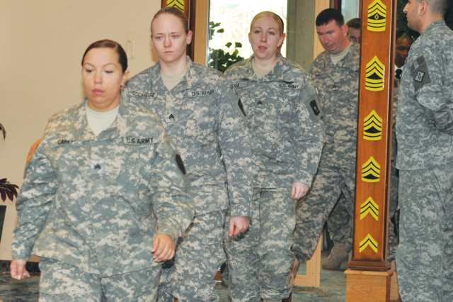 Fifteen Stuttgart NCOs inducted at ceremony