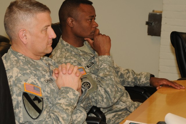 Sgt. Maj. of the Army Visits Fort McNair