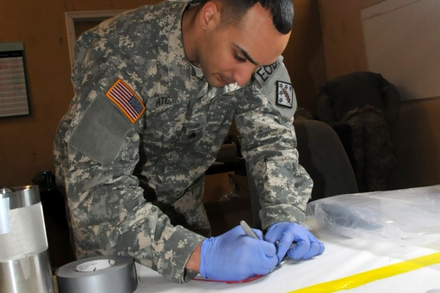 Improved training helps forensics team prepare for Afghanistan deployment