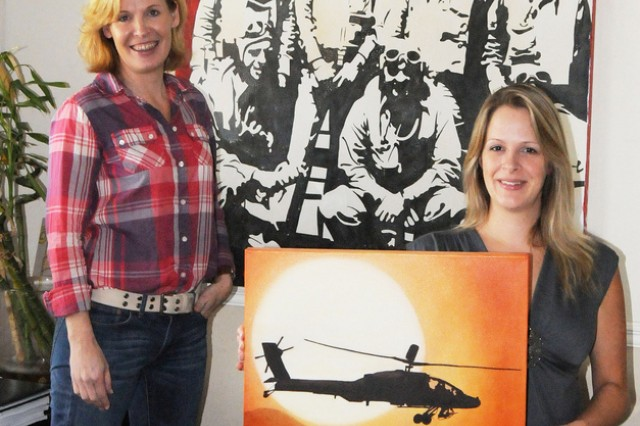 Fort Rucker spouses display artistic talents at festival