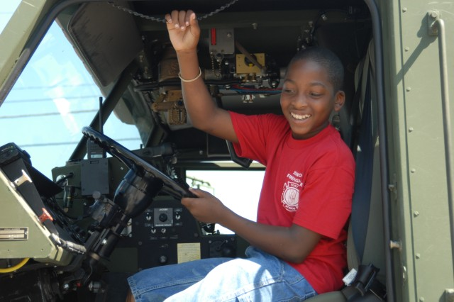 "April is Month of the Military Child and is being celebrated with a theme of ""Celebrate Military Children: The Strength of Our Future"" on Army garrisons."