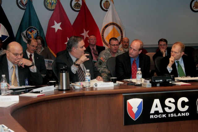 ASC hosts discussion on Iraqi maintenance requirements