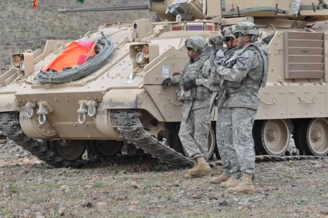1-1 CAV trains for Operation New Dawn at NTC