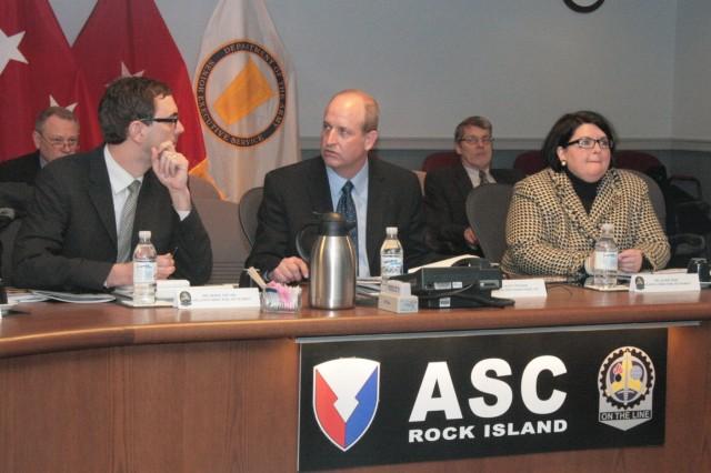 Iowa legislative director visits ASC headquarters