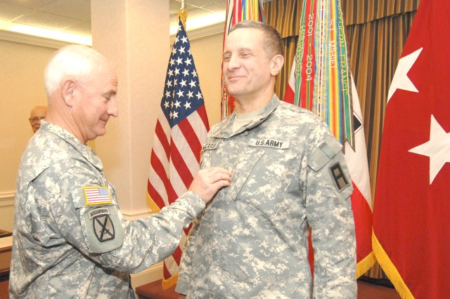 General awarded second star
