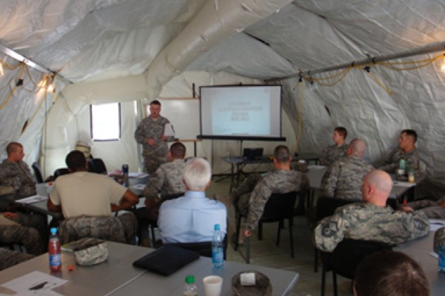 Third Army Civil-Military Operations Center provides training