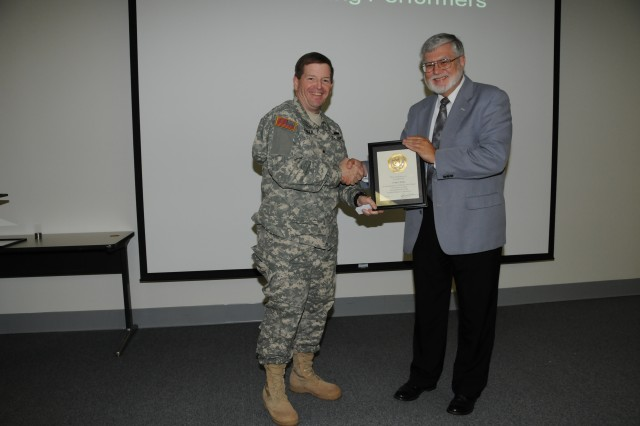 Craig E. Hodge was recognized for 35 years of service.
