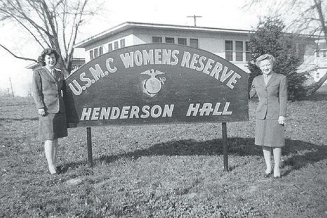 Women\'s History Month: Women Marines at Henderson Hall