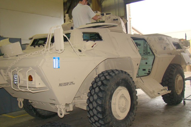 Armored Security Vehicle at RRAD