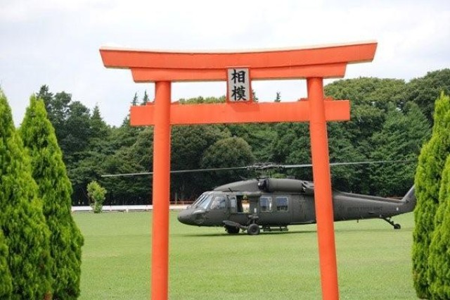The presence of the Army's UH-60 Black Hawk helicopters, supported by the Utility Helicopters Project Office,  is at a higher profile these days as two of the Army's Black Hawks provide search and rescue, and resupply assistance in Japan following the March 11 9.0-magnitude earthquake and subsequent tsunami.