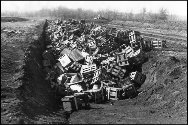 Standard Post-WWII Disposal Practices
