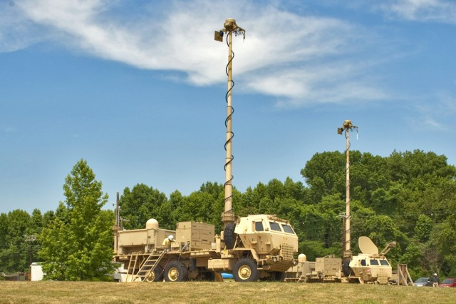 The Tactical Communication Node for the Warfighter Information Network - Tactical, or WIN-T, allows for on-the-move functionality.