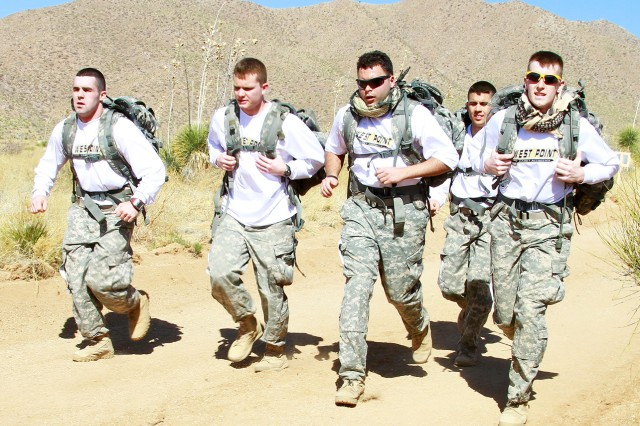 Cadets participate in annual Bataan Memorial Death March