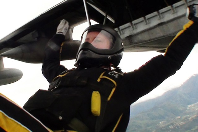 Sky's the limit for West Point Parachute Team