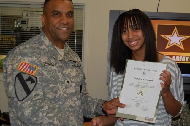 USAREC DCG Visits Indianapolis Recruiting Battalion