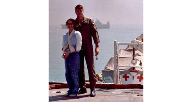 Maj. Rhonda Cornum on hospital ship