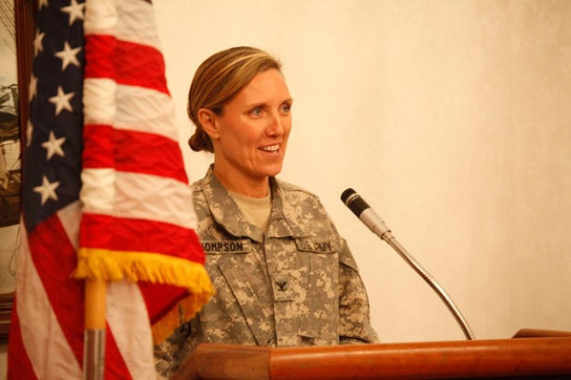 Col. Andrea L. Thompson, Commander, 902nd Military Intelligence Group