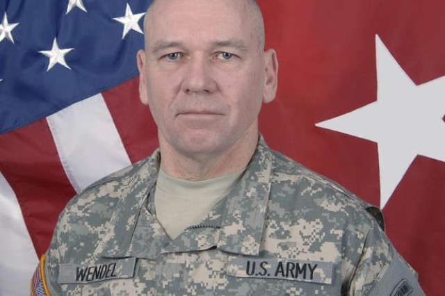 Division commander settles into new job