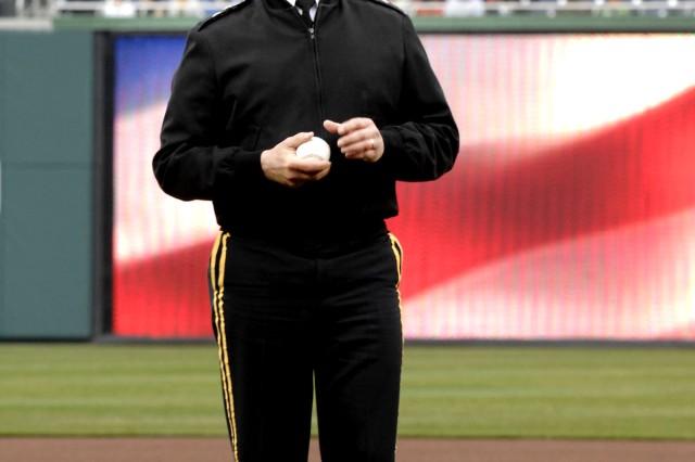 Washington Nationals Hosts Military During 2011 Season Opener