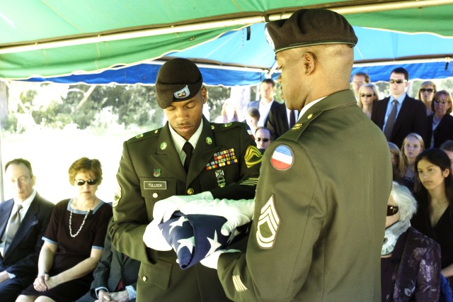 The Fort McPherson Honors Team concluded its mission of conducting funeral services April 1. The funeral service detail was assumed by Fort Gordon, Fort Benning and Fort Stewart.