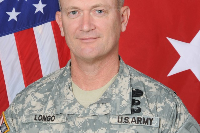 Maj. Gen. Richard C. Longo, deputy commanding general for Initial Military Training