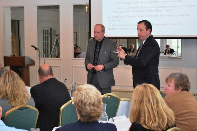 Rock Island Arsenal hosts strategic planning luncheon