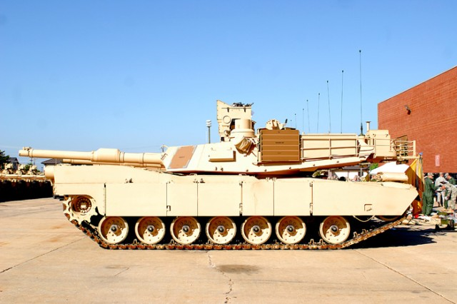 The Abrams M1A2 SEPv2 tank comes with the Commander's Independent Thermal Viewer, which allows the commander and gunner to track multiple targets.