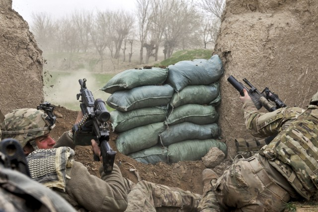 Under fire in Afghanistan