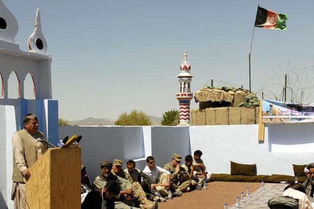 Kandahar mosque opens