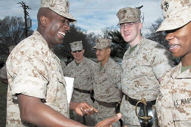First Corporals Course graduates at HH