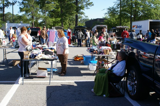 The last MWR Yard Sale at Fort Stewart and Hunter Army Airfield attracted hundreds of shoppers. You might just find your next treasure at this year's Great MWR Yard Sale.