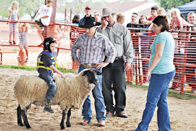 Cowboys for Heroes Mutton Bustin'