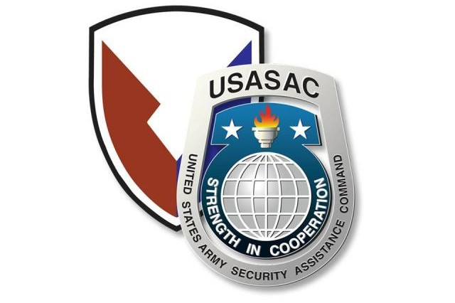 """USASAC is the Army's """"Face to the World."""" The U.S. Army Security Assistance C ommand was designated a major subordinate command of the U.S. Army Materiel Command in 1975."""