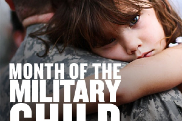 Month of the Military Child spotlight graphic
