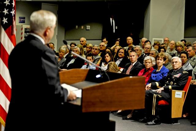Retirement ceremony for Gen. George W. Casey Jr.