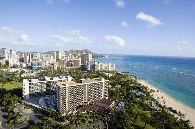 Hale Koa Hotel on Waikiki Beach, Hawaii