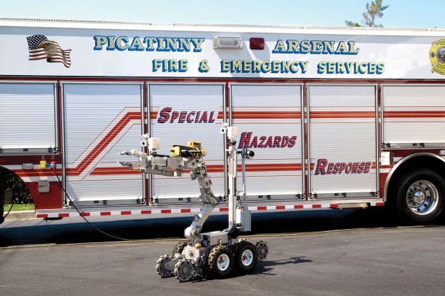 The Picatinny Special Hazards Response Vehicle holds a wide range of technologically advanced equipment designed to help responders of chemical, biological, radiological, nuclear and explosive (CBRNE) events.