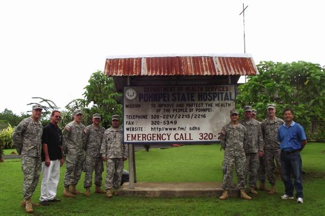 Engineers assess Micronesia hospital repair