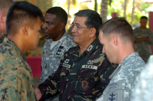 Philippine military leader thanks U.S. troops